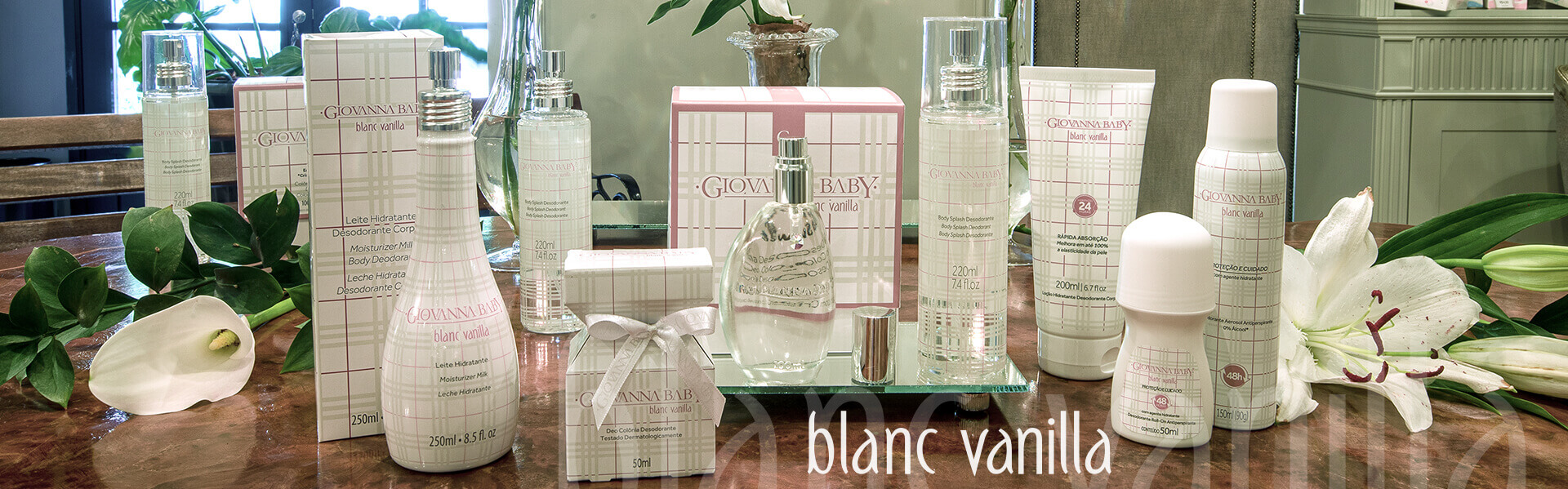 Banner Blanc Vanilla